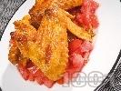 Рецепта Мариновани пилешки крилца на фурна